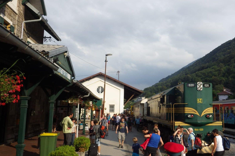 Car train slovenia