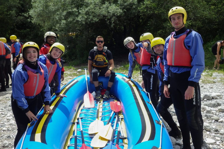 Emerald river tour rafting