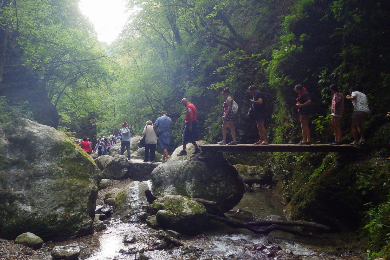 Kozjak waterfall day trip