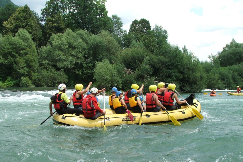 Rafting from Ljubljana