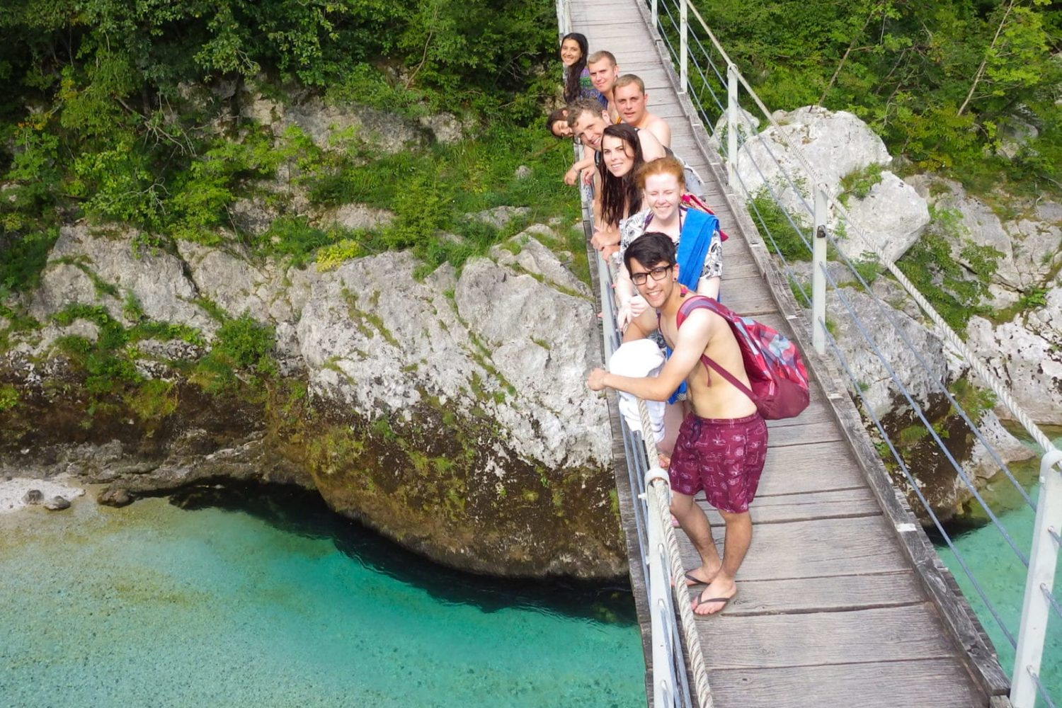 Soca river day trip from Bled