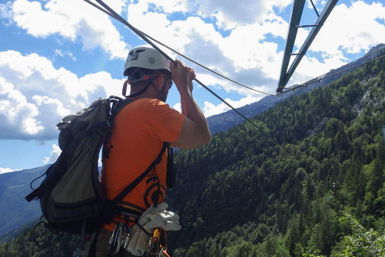 The longest zipline in europe