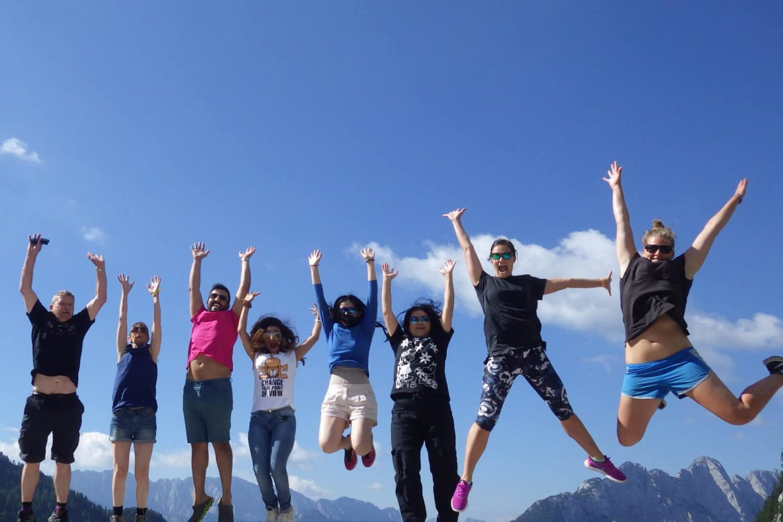 Vršič mountain pass trip