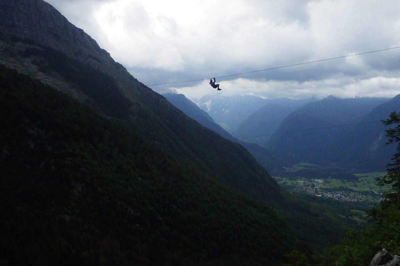 Zipline bovec on a day trip