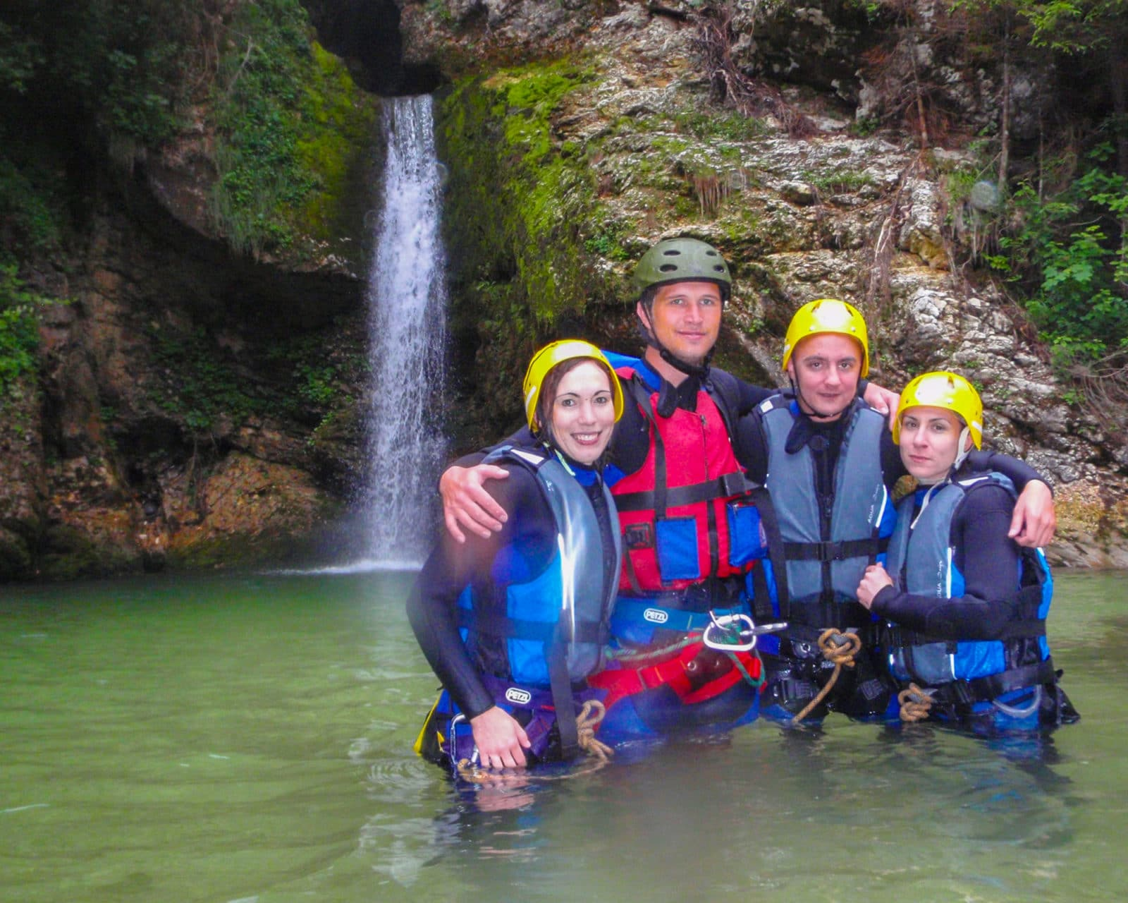 Canyoning Bled is a fun and exciting adrenaline activity for families and students