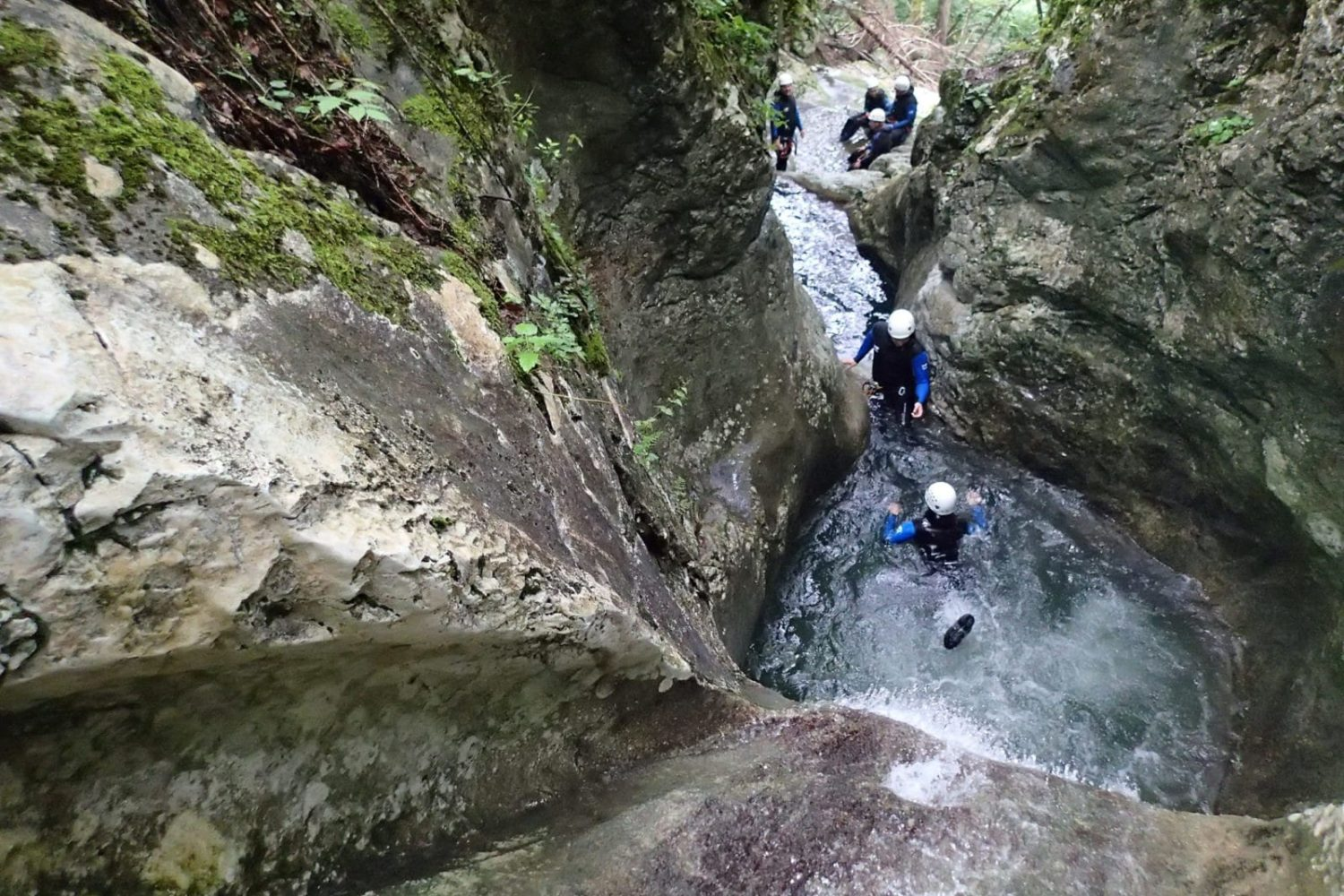 The best canyoning in Bled Slovenia