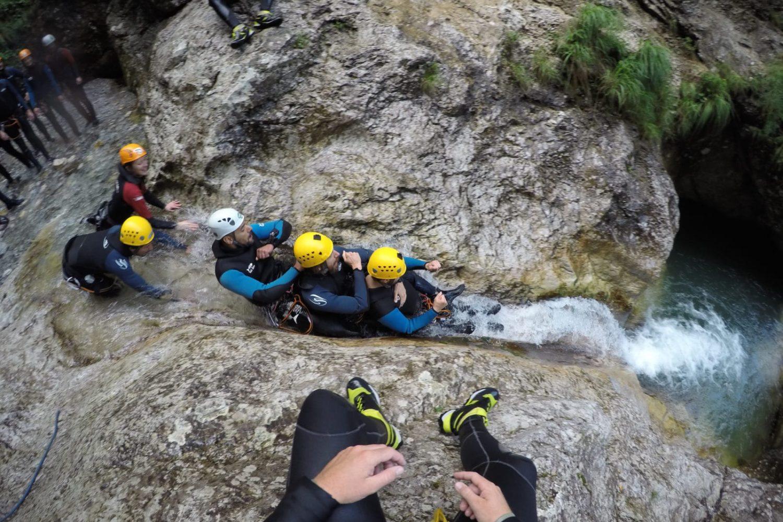 Caynoning in Bovec triglav national park