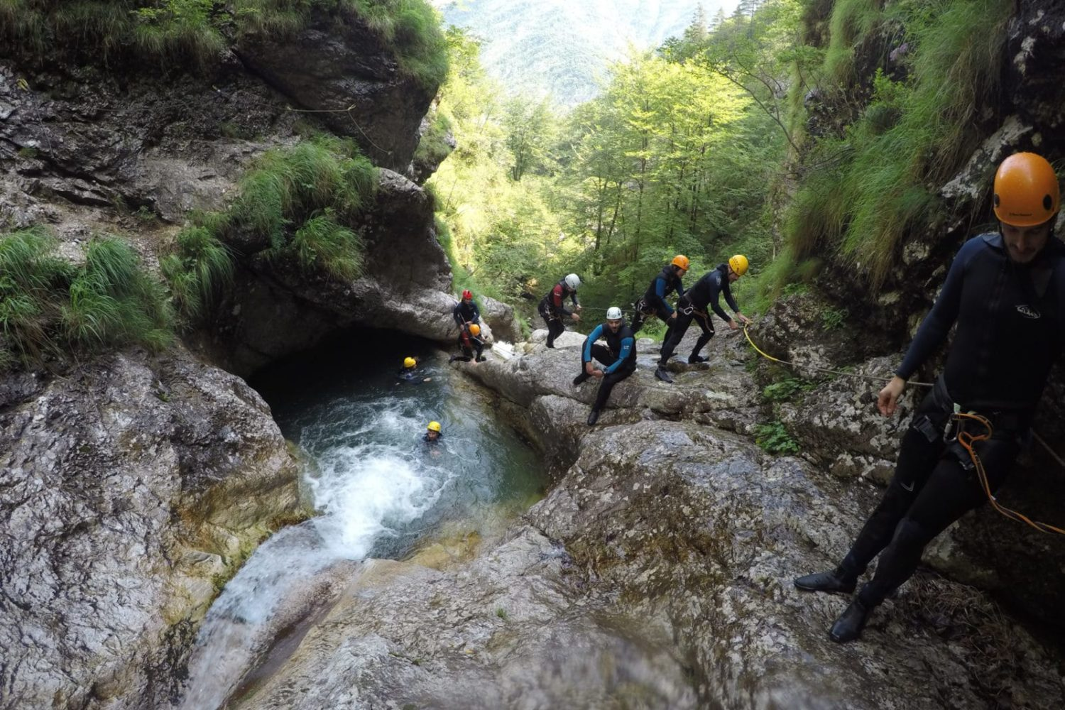 Canyoning in Bovec for Families