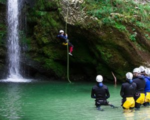 The best Canyoning in Slovenia