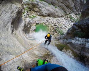The best canyoning in Bovec