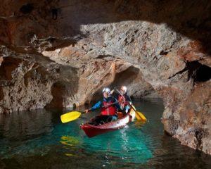 Cave kayak Slovenia from Bled or Ljubljana