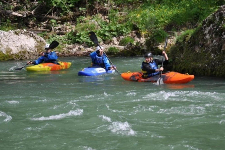 Kayaking on sava river