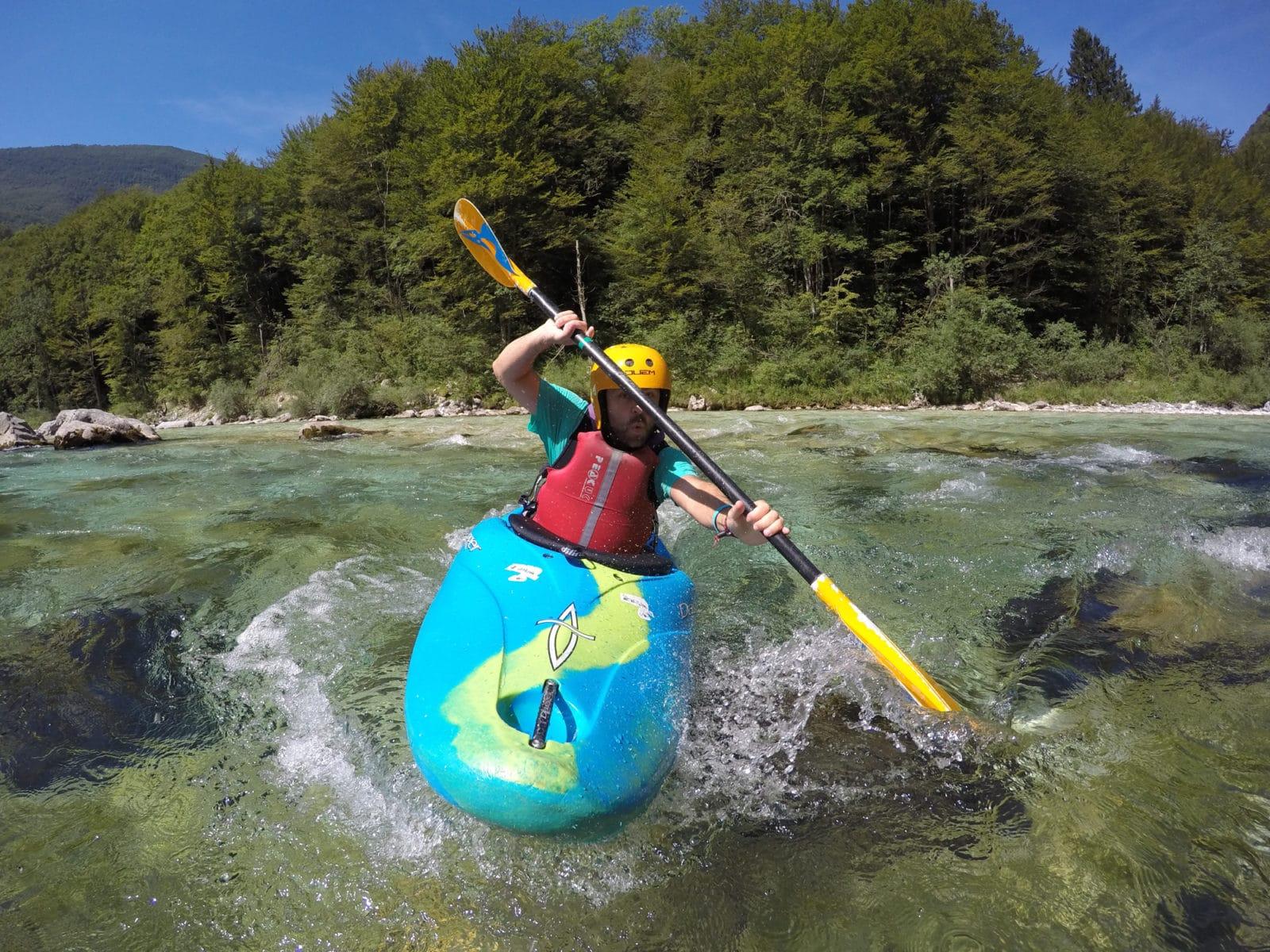 Kayaking in Bovec