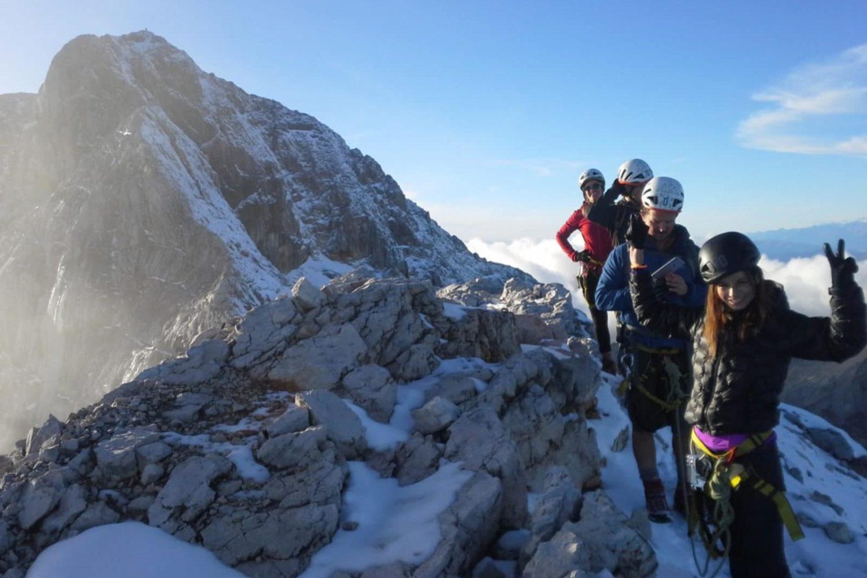 Mountaineering around Bled