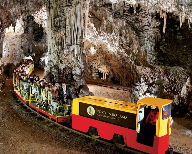 Postojna cave trip from Bled