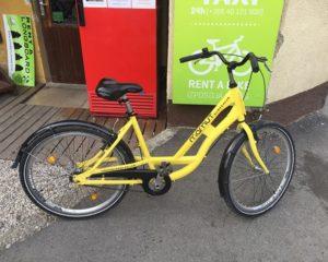 Rent a city bike in Bled lake