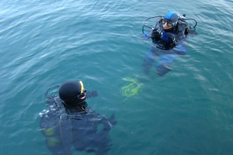 Scuba diving in Slovenia