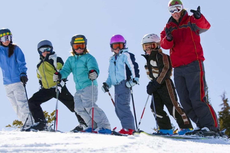 Ski school in Bled
