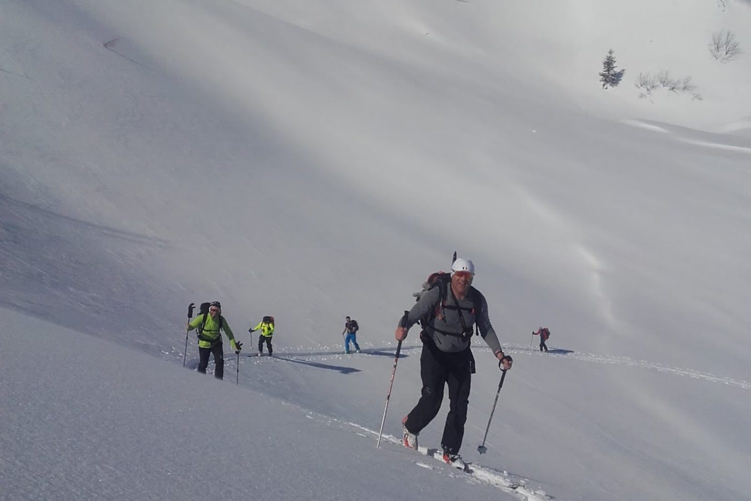 Ski touring from Bled