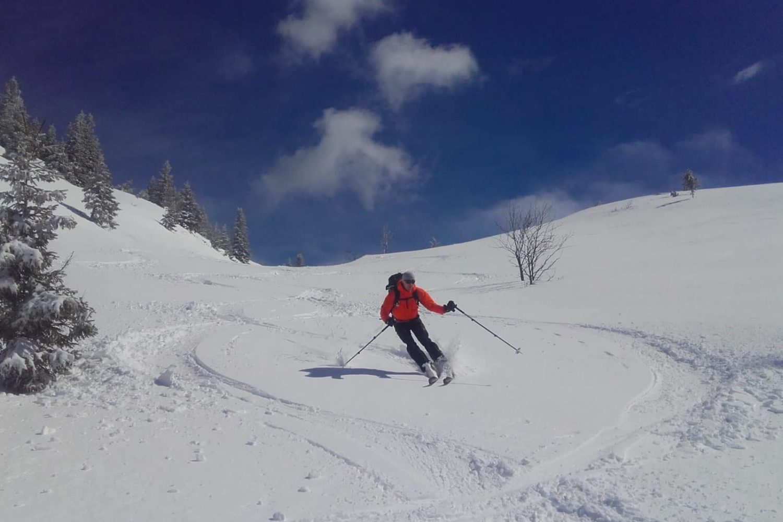 Ski touring from Ljubljana