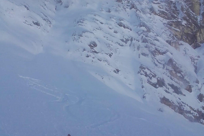 Ski touring from lake Bled