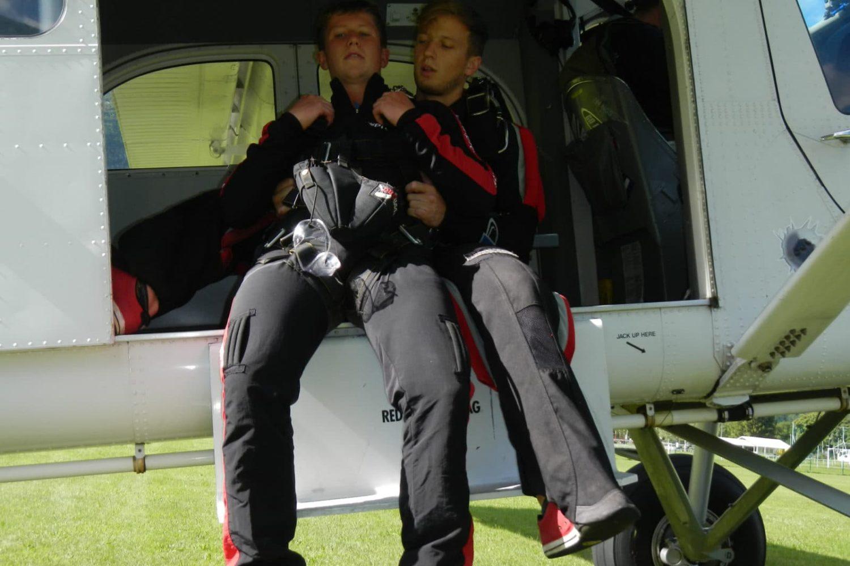 Skydiving in triglav national park
