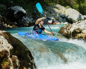 The best White water kayaking in Slovenia