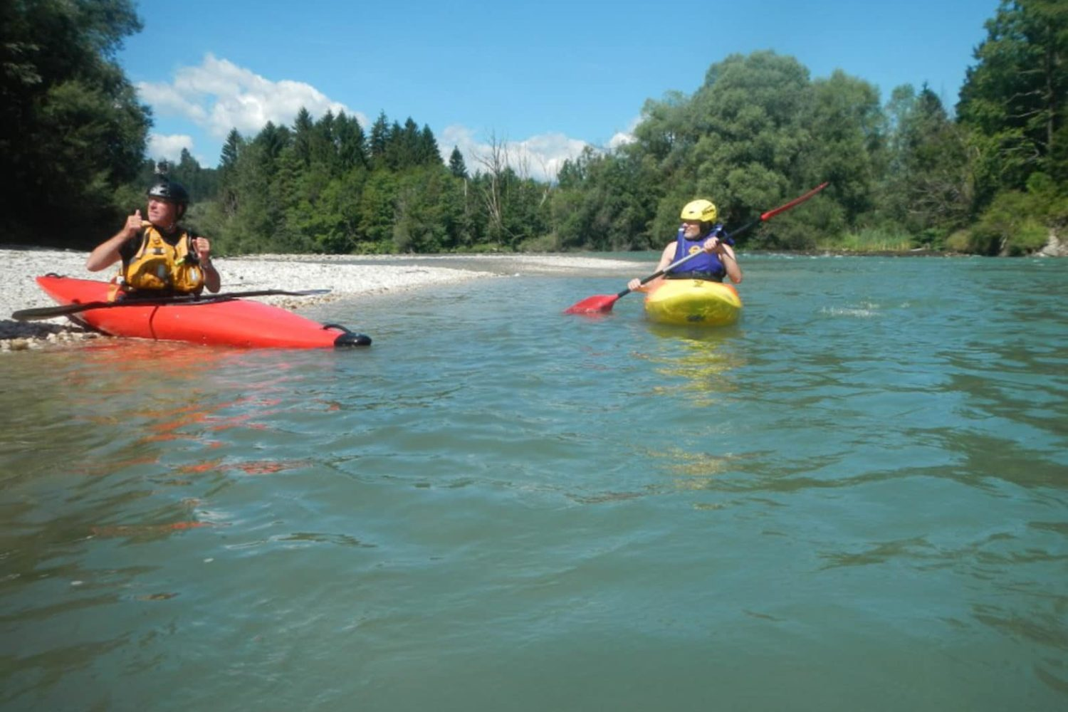 The best white water kayaking in Bled