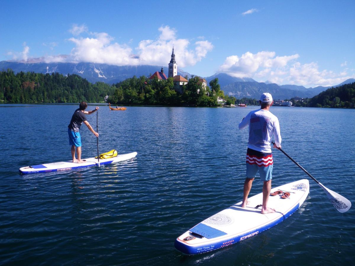 Rent stand up paddle board in Bled
