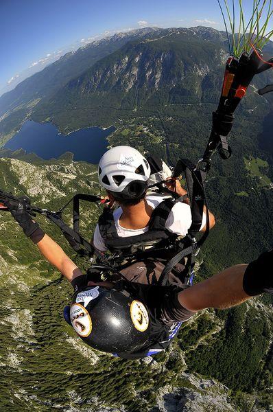 Paragliding from Ljubljana
