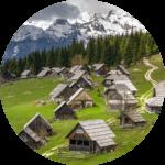 Transfer from Bled to Pokljuka plateau