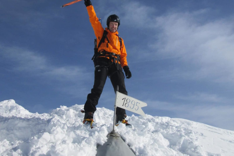 Triglav guided winter ascent