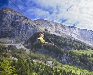 The best zipline in Slovenia from Bled or Ljubljana