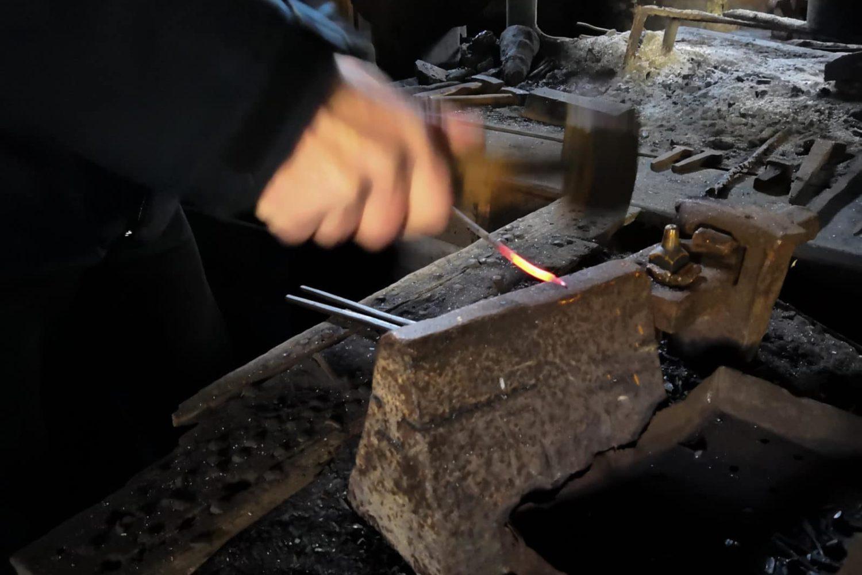 tour of slovenia blacksmithing