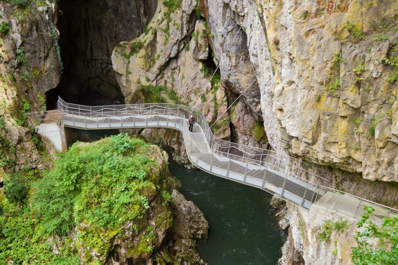Škocjan cave day trip from Bled or Ljubljana