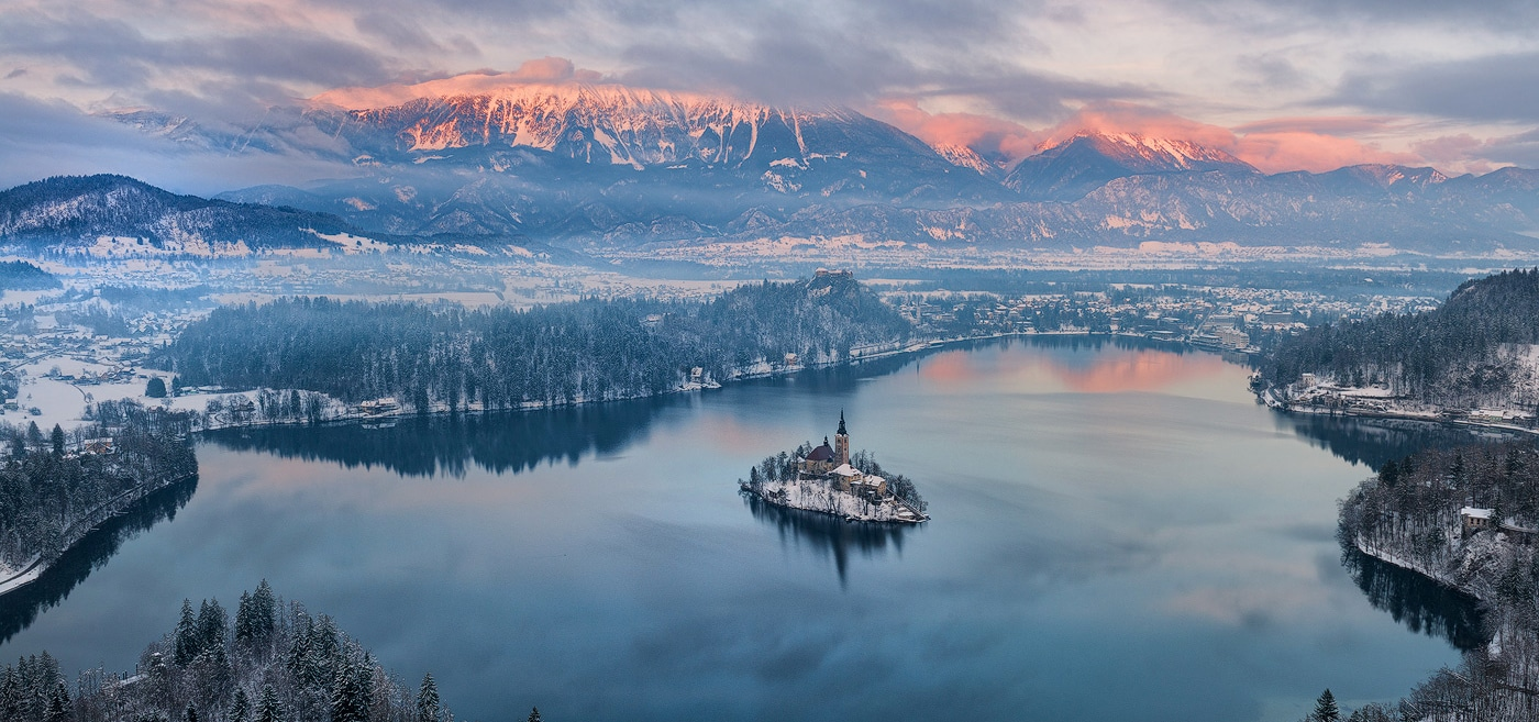 Winter tour in Triglav National park from Bled or Ljubljana
