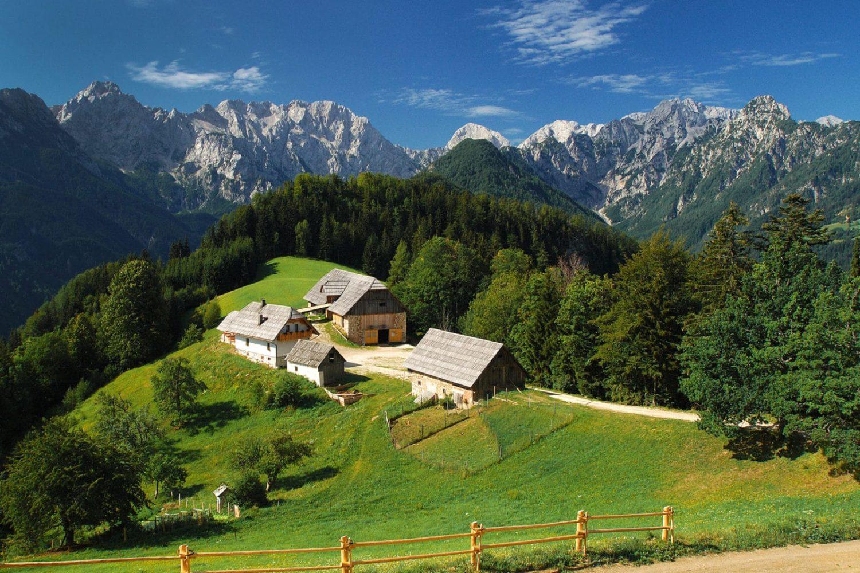 Logarska valley tour from Ljubljana or Bled