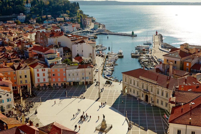 Tour to Piran from Bled or Ljubljana