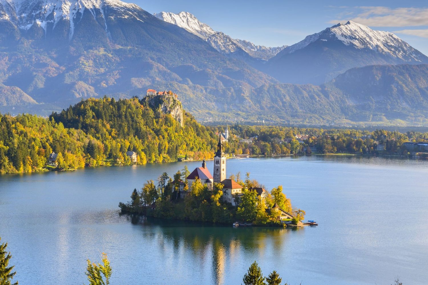 Bled with a private shuttle from ljubljana
