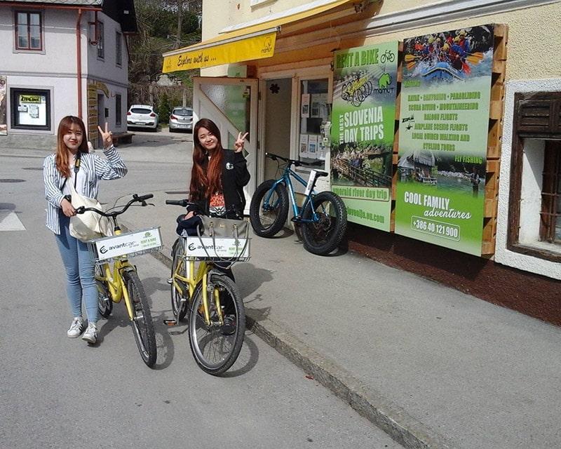 Rent a bike in Lake Bled