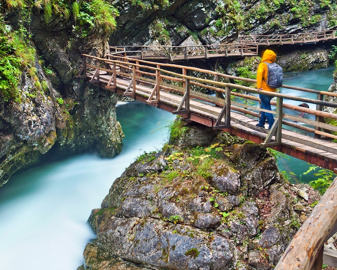How to get from Bled to vintgar gorge