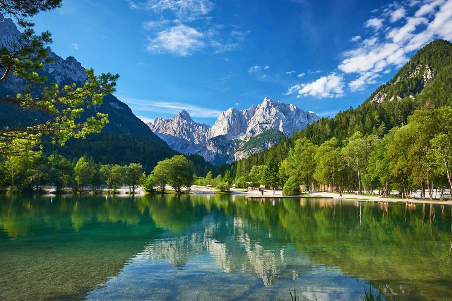Green lakes tour Slovenia