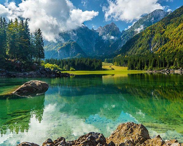 Green lakes tour Slovenia