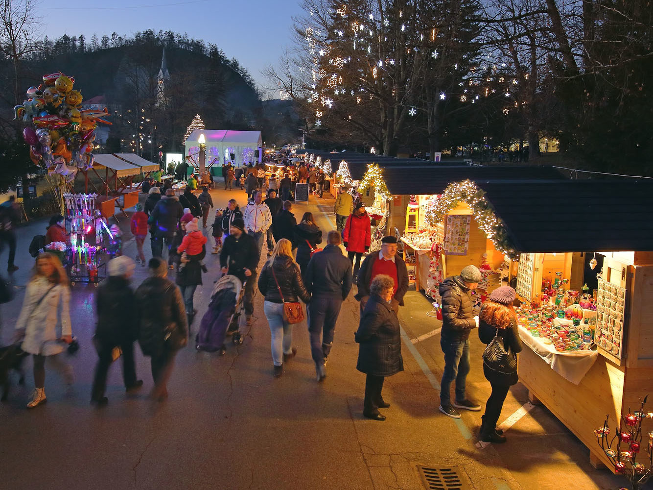 Winter Market in Bled