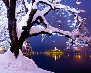 Christmas Fairytale in Bled